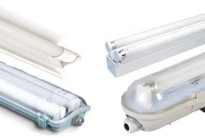 LED TL buis met armatuur
